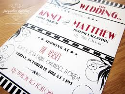 Great Idea To Make Your Wedding Invitations Like A Movie Ticket