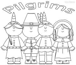 Small Picture Pilgrim Coloring Sheets Thanksgiving Coloring Printables Coloring
