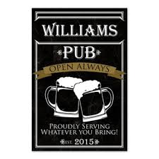 personalized pub canvas wall art on bar themed wall art with buy bar wall decor from bed bath beyond