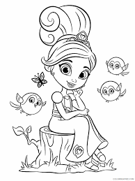 Beautiful knights and dragons coloring page to print and color. Nella The Princess Knight Coloring Pages Tv Film Printable 2020 05422 Coloring4free Coloring4free Com