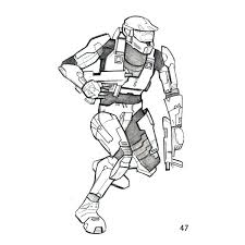 Free Online Halo Coloring Pages Halo Coloring Pages Halo Coloring