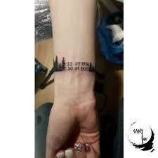 Tetování Na Předloktí Kompas