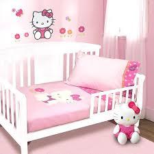 hello kitty garden 5 piece baby crib bedding set furniture bedroom dream