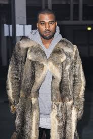 kanye west seen at the givenchy fashion show during the paris fashion week in