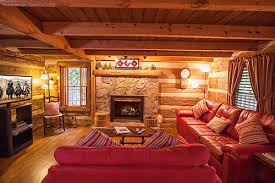 Log Cabin Living Room Concept Cool Decorating Design