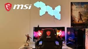 Mystic Light Party Setup Nanoleaf X Acod With Ambient Link Rgb Mystic Light Msi