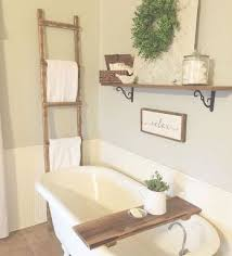 farmhouse bathroom ideas. Vintage Farmhouse Bathroom Remodel Ideas On A Budget (53)