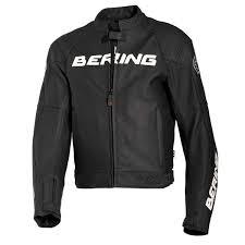 80off 680points bering harrison leather jacket black