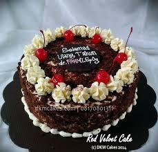 Red Velvet Cake Dkm Cakes Toko Kue Online Jember