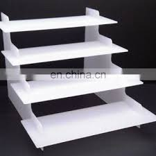 Acrylic Product Display Stands Enchanting 32 Step White Or Clear Acrylic Display Stand Of New Products From