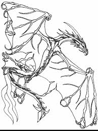 Small Picture Free Dragon Coloring Page lots of spikes on this one Creative