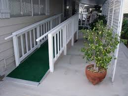 mobile home custom ramps porch