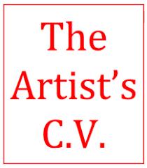 Cv For Artists Art Business Info For Artists