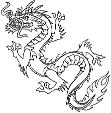 Dragon Color Sheets Dragon Clip Art Free Printable Dragon Coloring