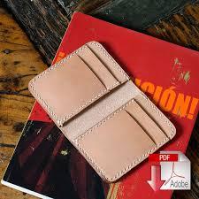 leather vertical 6 pocket wallet pdf