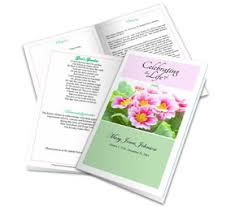 Funeral Programs Samples | Example Of Funeral Memorial Programs
