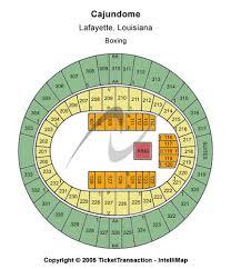 Louisiana Cajundome Seating Chart Cajundome Tickets And Cajundome Seating Charts 2019