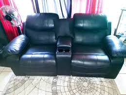 luxury leather cinema recliner lounge suite
