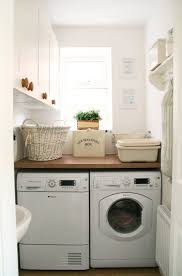 Laundry Room: Beautiful Tiny Laundry Space Decoration - Tiny Laundry Room