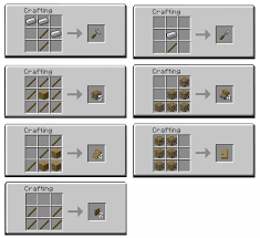 minecraft fence crafting. Perfect Fence Carpenters Recipes To Minecraft Fence Crafting