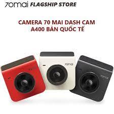 Mã ELTECHZONE giảm 5% đơn 500K] [Bản quốc tế] Camera hành trình ô tô 70mai  Dash Cam A400 + Rear Cam - Bảo hành 1 tháng