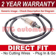 symptoms of defective oxygen sensor for vauxhall opel zafira a b 1 8 front rear 4 wire lambda oxygen sensor os74208