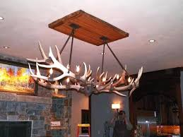 chandeliers antler chandelier kit awesome custom shed elk by forge wonderful lighting 5 an