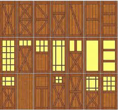 new barn door designs
