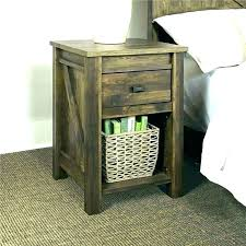 small chairside table. Narrow Chairside Table Small End With Drawers E