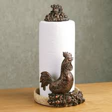 rooster harvest paper towel holder touch to zoom