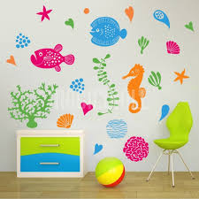 under the sea marine life wall decals stickers