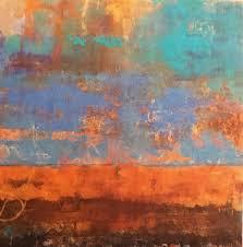 allison b cooke inzio quin ii 2016 oil cold wax and mixed media on panel 36 x 36 photo robert m gitsh