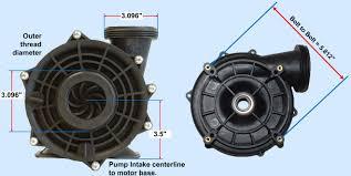 b electric motor freight waterway spa b235 thru bolt dimensions b235 wetend dimensions