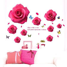 gold dot wall decals rose