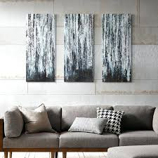 three piece canvas artwork park 3 birch forest wall art set featuring australia