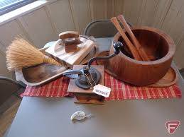 coffee grinder alaska ulu knife and bowl set wood bowl and other wood pieces
