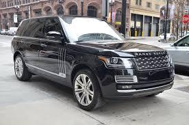 land rover 2015 black. used 2015 land rover range autobiography black lwb chicago il