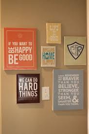 diy wall art words