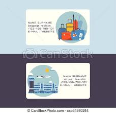 Airport Vector Plane Flight Business Card Departure Arrival Terminal Airports Building Illustration Backdrop Traveling By Airplane Transport