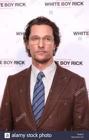 Attore Matthew McConaughey assiste una speciale proiezione del ragazzo  bianco Rick al Picturehouse Cinema centrale di Londra Foto stock - Alamy