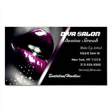 makeup artist business card pictures