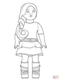 Free American Girl Coloring Pages To Print Diannedonnellycom