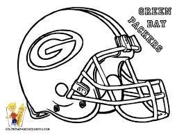 nfl coloring book pages football