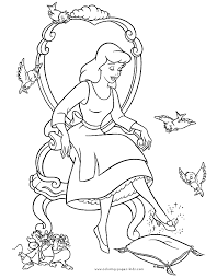 Cinderella Disney Free Coloring Pages On Art Coloring Pages