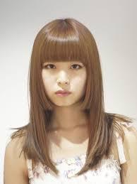 お人形さんみたいな可愛さ姫カットで作るドーリーガールのヘアカタログ