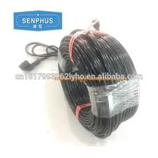 roof wires melt ice roof ice melt electroniccable gutter snow melting cable