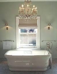 chandelier for bathroom picturesque modern bathroom
