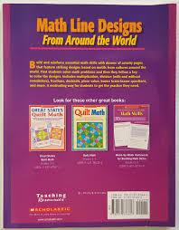 Math Line Designs From Around The World 4 6 Math Line Designs From Around The World Yrs 4 To 6