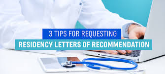 How To Ask For Letter Of Recommendation Residency How To Request Residency Letters Of Recommendation