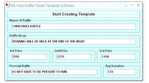 Draw Tickets Template Ticket Sheet Template Free Printable Templates Raffle Excel Outline